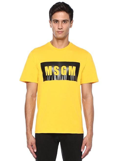 Msgm Tişört Sarı